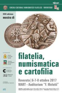 XXIII Mostra di Filatelia, Numismatica e Cartofilia