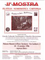 Mostra 1996